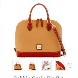 Dooney & boule sand color bag